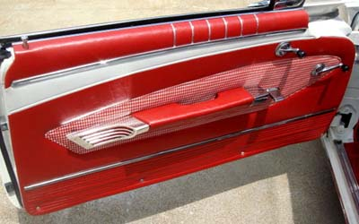 1960 Impala Convertible Interior Kit Seat Covers